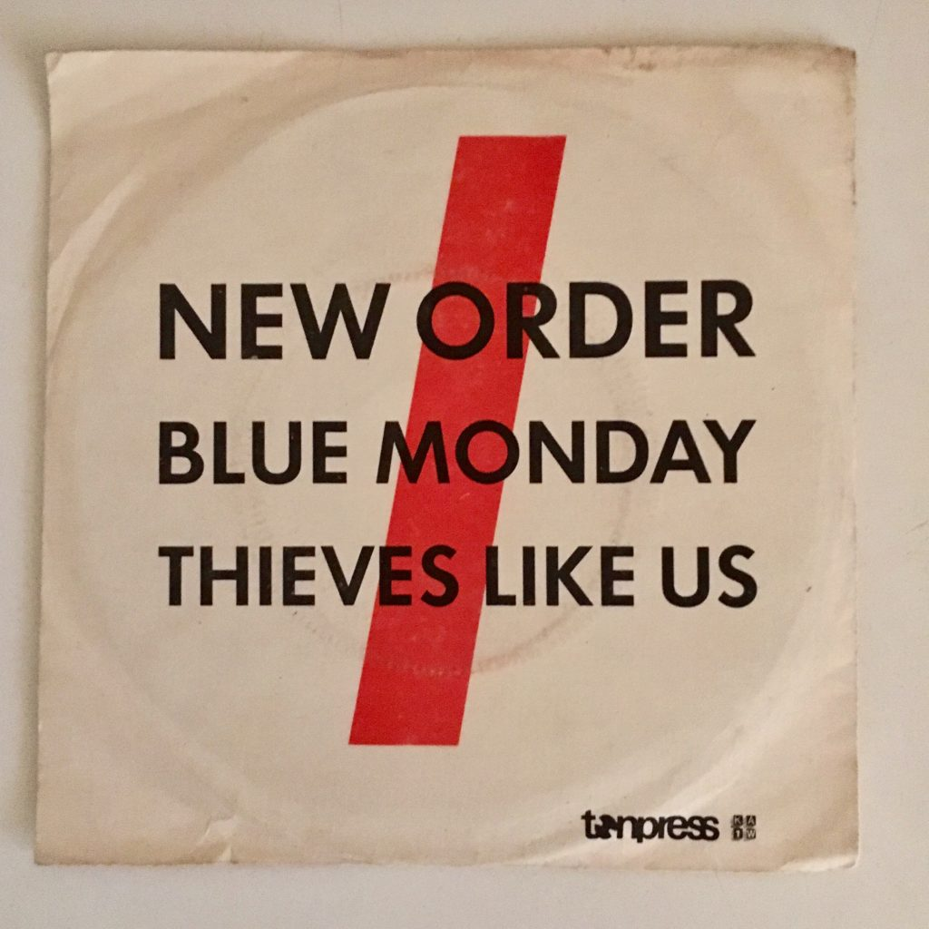 "The day's catch: 10"" New Order - Blue Monday"